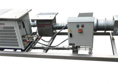 Système de traitement de l'air sur chassis
